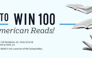 Enter to Win 100 Bestseller Books (ends 8/31)