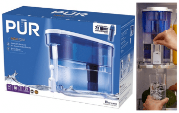PUR 18-Cup Water Dispenser Bundle Only $24.99! (reg $49.99)