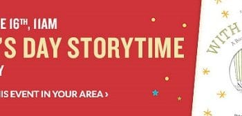 FREE Father's Day Storytime Event at Barnes & Noble on June 16th!