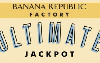 Banana Republic Factory Ultimate Jackpot Instant Win Game (Ends 6/17)