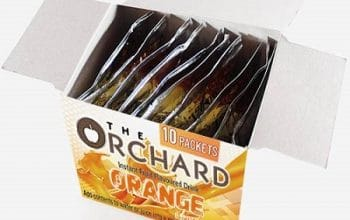 FREE The Orchard Instant Orange Drink Sample