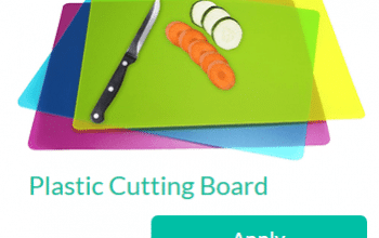 Trybe Sampling Opportunity: Plastic Cutting Board