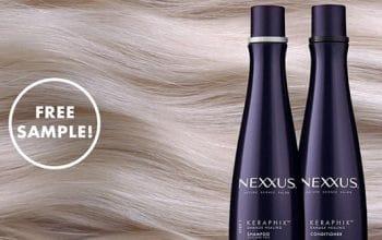 FREE Nexxus Keraphix Shampoo & Conditioner Sample
