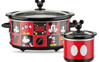 5-Quart Mickey Mouse Slow Cooker + Bonus Dipper Only $33.73 Shipped! (reg $44.99)