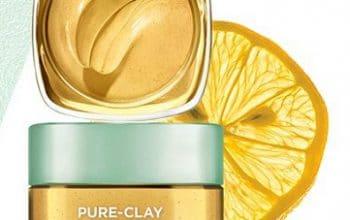 FREE L'Oreal Paris Pure-Clay Yuzu Lemon Mask Sample