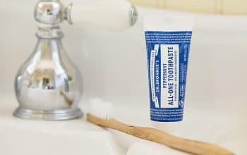 NEW Mom's Meet Sampling Opportunity: Dr. Bronner's All-One Toothpaste