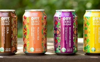 NEW Mom's Meet Sampling Opportunity: DRY Zero Sugar Organic Soda