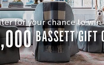 Enter to Win a $10,000 Bassett Gift Card (ends 8/12)