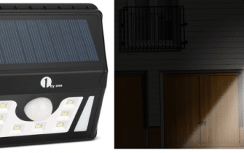 Solar Powered Outdoor LED Security Motion Light Only $6.99!