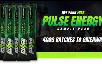 FREE Pulse Energy Drink Sample Pack