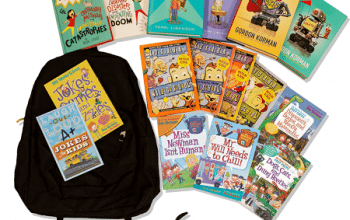 HarperCollins Back-To-School Sweepstakes (ends 8/6)