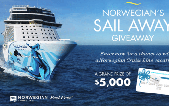 Enter to Win a $5,000 Norwegian Cruise Line Gift Card (ends 8/13)