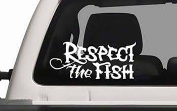 FREE Respect the Fish Window Decal