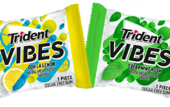 Possible FREE Trident Vibes Gum Sample