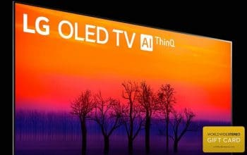 Enter to Win an LG OLED Smart TV + More (ends 8/31)