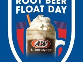FREE Root Beer Float at A&W Today (8/6)