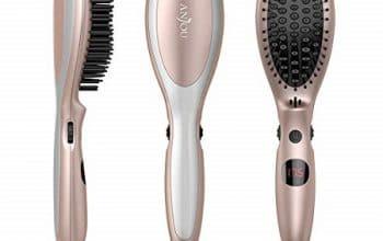 Anjou Hair Straightener Brush Only $9.29!