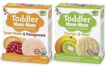 NEW Mom's Meet Sampling Opportunity: Toddler Mum-Mum Organic Rice Biscuits