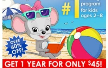Labor Day Sale: Get 1 Year of ABCmouse for only $45!