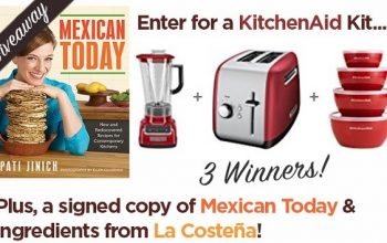 Pati Jinich Back To School Sweepstakes (ends 8/31)