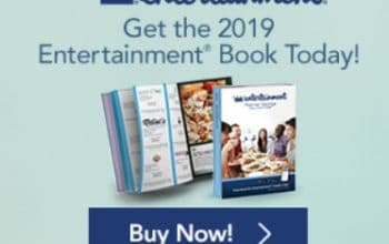 2019 Entertainment Books Shipped FREE with Coupon Code!