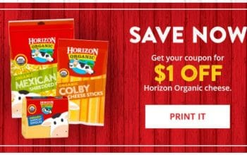 Coupon: $1 off Horizon Products