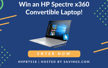 HP Spectre X360 Convertible Laptop + $50 Gift Card Giveaway (Ends 8/24)