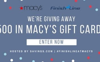 $50 Macy's Gift Card Giveaway – 10 Winners! (Ends 8/10)