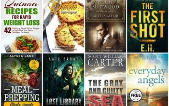 FREE Kindle Books for 8/13
