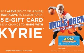 Buy 2 Aleve, Get a $5 eGift Card!