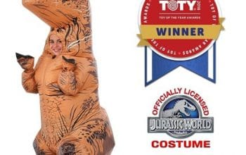Child T-Rex Inflatable Costume Only $38.66 Shipped! (reg $59.99)