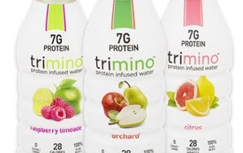 NEW Mom's Meet Sampling Opportunity: trimino Protein Infused Water