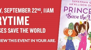 FREE Storytime & Activities at Barnes & Noble on September 22nd!