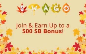 September Swago Board – Join & Earn Up to 500 SB Bonus!