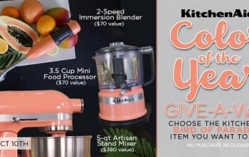 Everything Kitchens KitchenAid Color of the Year Giveaway (ends 10/10)