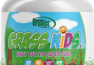 FREE Organics Family Grass Kids Whey Powder Sample