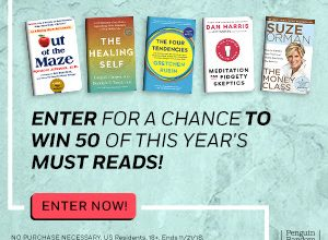 Enter to Win 50 'Must Read' Books (ends 11/21)
