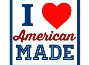 FREE I Love American Made Sticker
