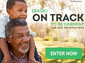 AARP On Track to Retirement Sweepstakes