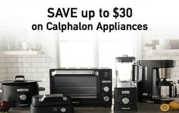 Target: Save Up to $30 on Calphalon Appliances