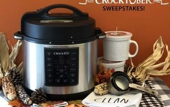 Crock-Pot Crocktober Sweepstakes (ends 10/30)