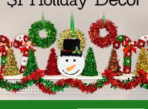 $1 Stocking Stuffers and Holiday Decor at Dollar Tree
