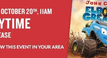 FREE Storytime & Activities at Barnes & Noble on October 20th!