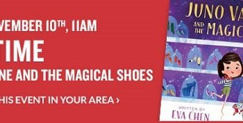 FREE Storytime & Activities at Barnes & Noble on November 10th!