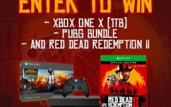Enter to Win an XBOX ONE X PUBG Bundle (ends 10/25)