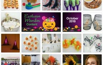 FREE Dollar Tree Inspired Crafts, Recipes, Organization Tips & More (October 2018)