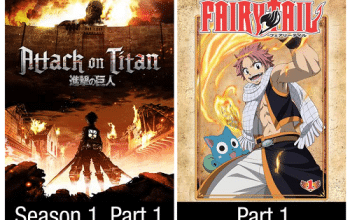 FREE Fairy Tail and Attack on Titan Season 1 Downloads