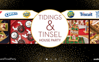 Ripple Street: Apply for Nabisco Snacks Tidings & Tinsel House Party