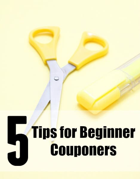 tips for beginner couponers