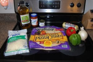 Make Your Own Pizza Ingredients